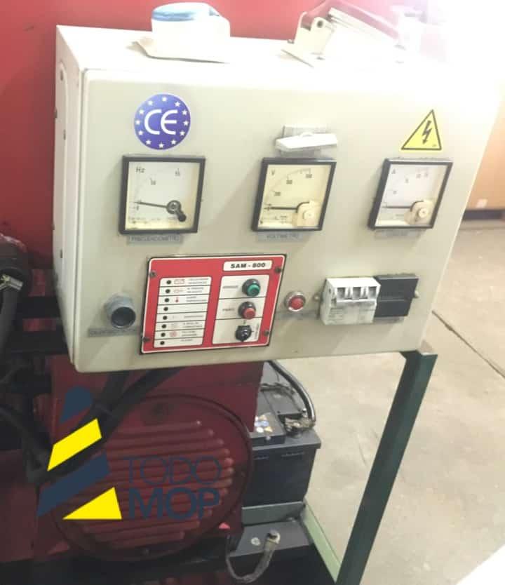 Generador MECC ALTE SPA con motor Lombardini 4069172. TodoMOP.