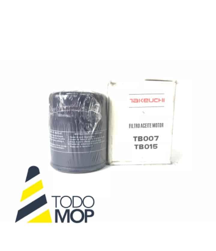 FILTRO ACEITE MOTOR TAKEUCHI TB007/TB015