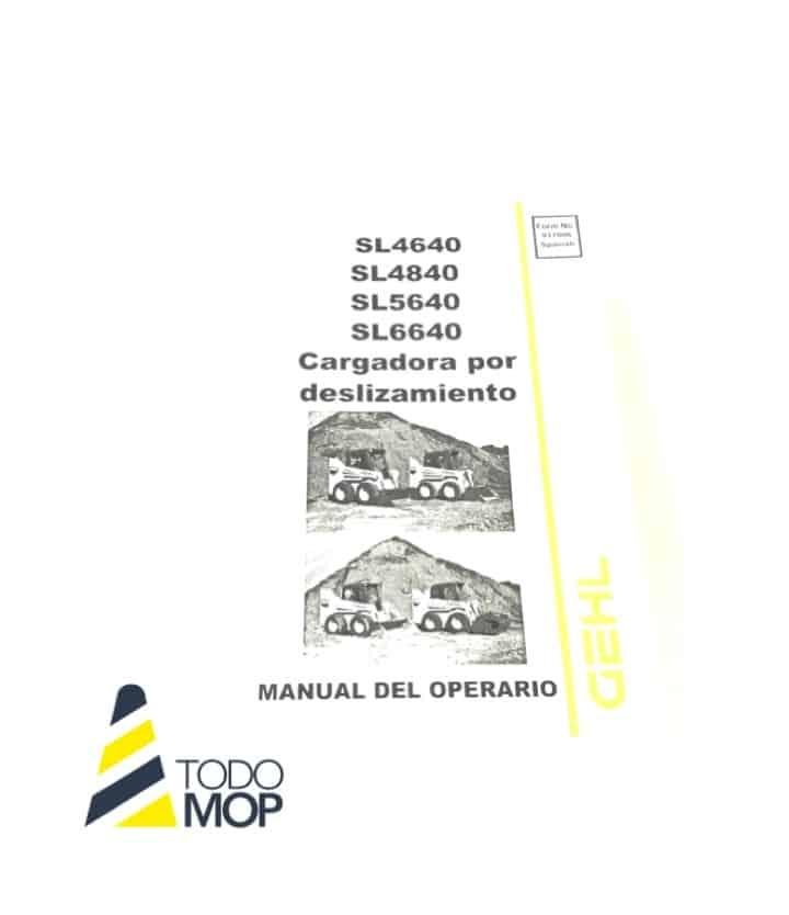 MANUAL DE OPERARIO GEHL 4640/4840/5640/6640