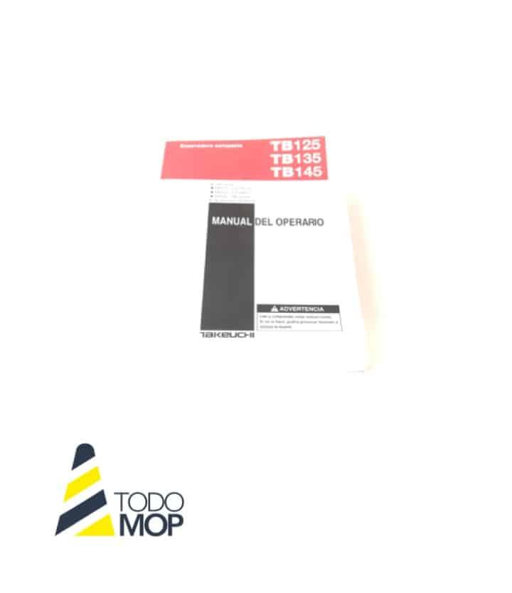 MANUAL DEL OPERARIO TAKEUCHI TB125/135/TB145