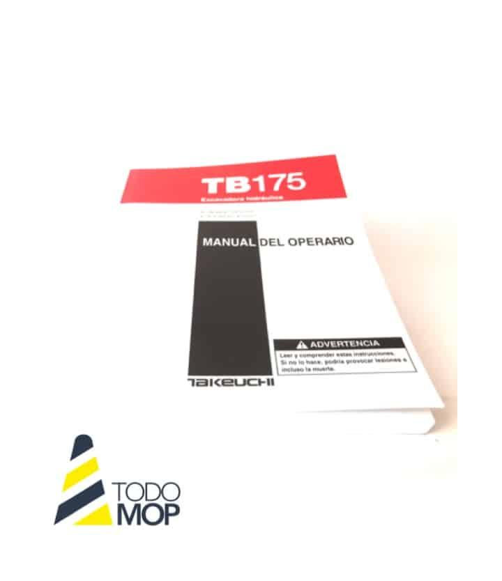 MANUAL DEL OPERARIO TAKEUCHI TB175