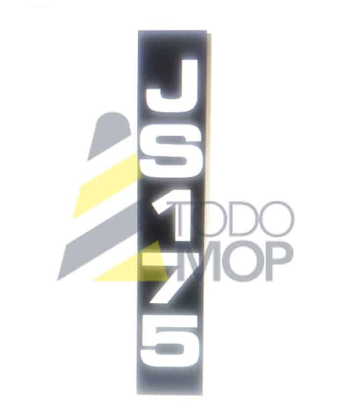 JUEGOS DE PEGATINAS JCB JS 175
