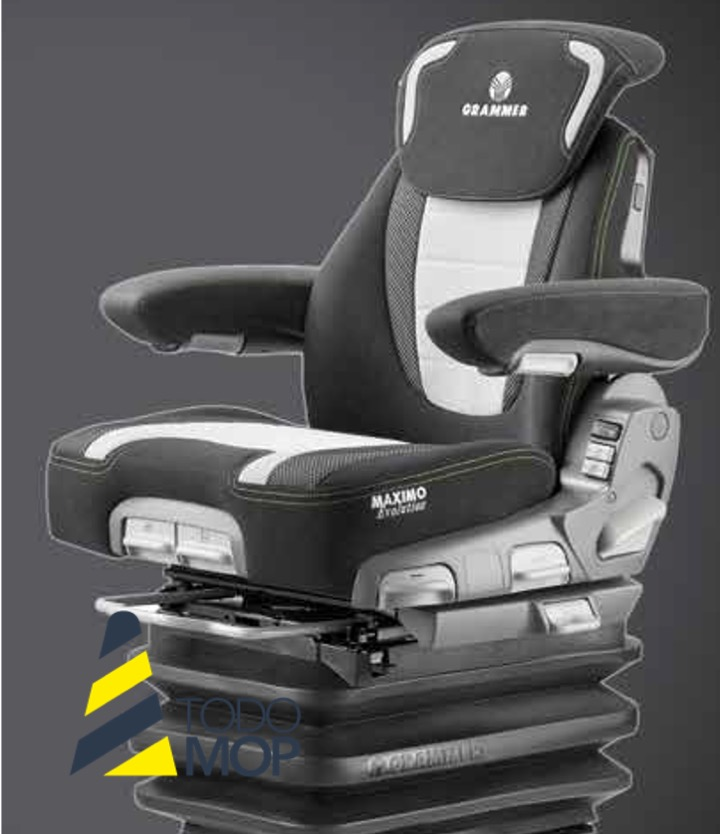 ASIENTO MAXIMO EVOLUTION DYNAMIC GRAMMER TRACTORES GRANDES/MEDIANOS